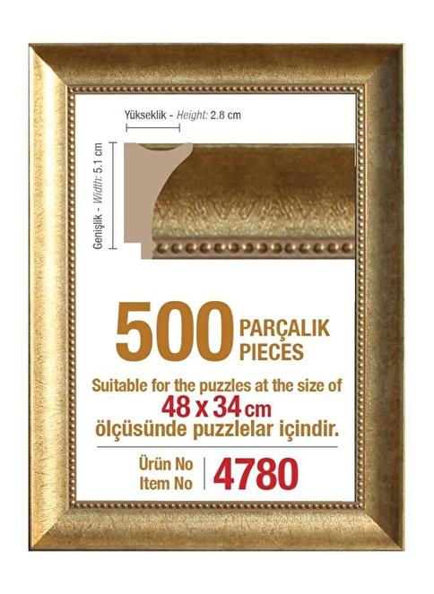 Educa Heidi 500 Parçalık Puzzle Çerçevesi 48X34 Cm 4780 Renkli